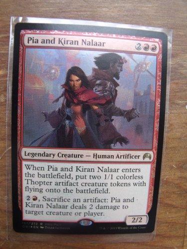 FOIL Promo Pia and Kiran Nalaar, Magic Origins, NM  Magic the Gathering