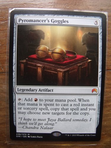 Pyromancer's Goggles, Magic Origins, NM  Magic the Gathering