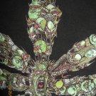 Marijuana Leaf with Faces T Shirt Large Black - Pot