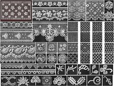 1910 DMC Irish Crochet Victorian Patterns - 4 eBooks on CD Printable