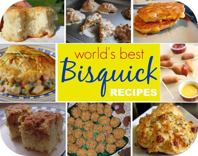 242 Bisquick Mix Recipes eBook on CD Printable