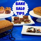 BAKE SALE RECIPES & TIPS eBook on CD Printable