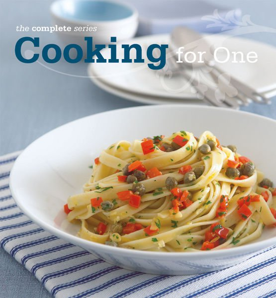 COOKING FOR ONE Recipes eBook on CD Printable