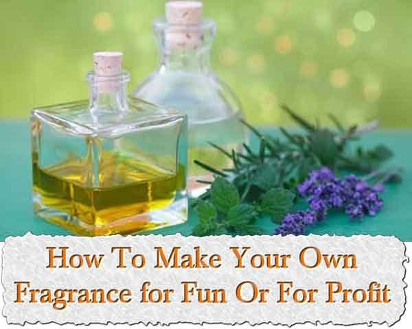 DIY Make Your Own Perfume or Colonge eBook on CD Printable - For Fun or Profit