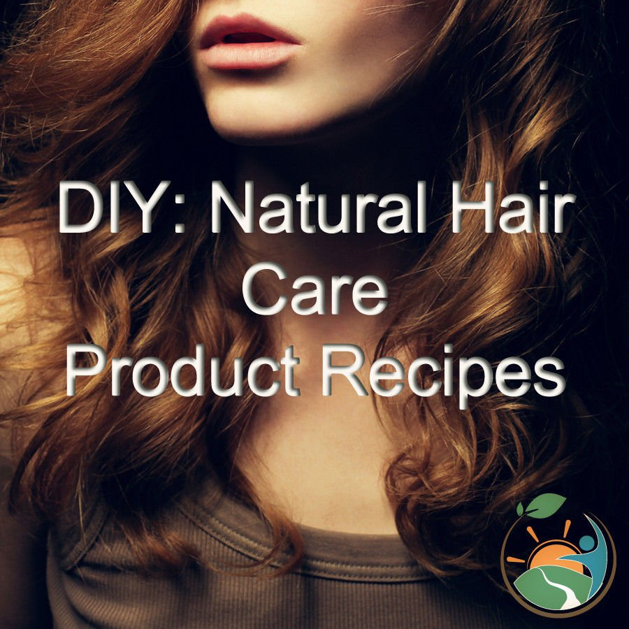 Make Your Own Natural Total Hair Care Recipes Printable eBook on CD