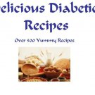 DIABETIC Recipes Cookbook eBook on CD Printable Over 50 Delicious Recipes