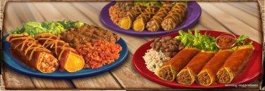 126 Enchilada Recipes eBook on CD Printable
