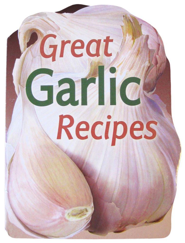 Garlic A-Z Recipes eBook on CD Printable