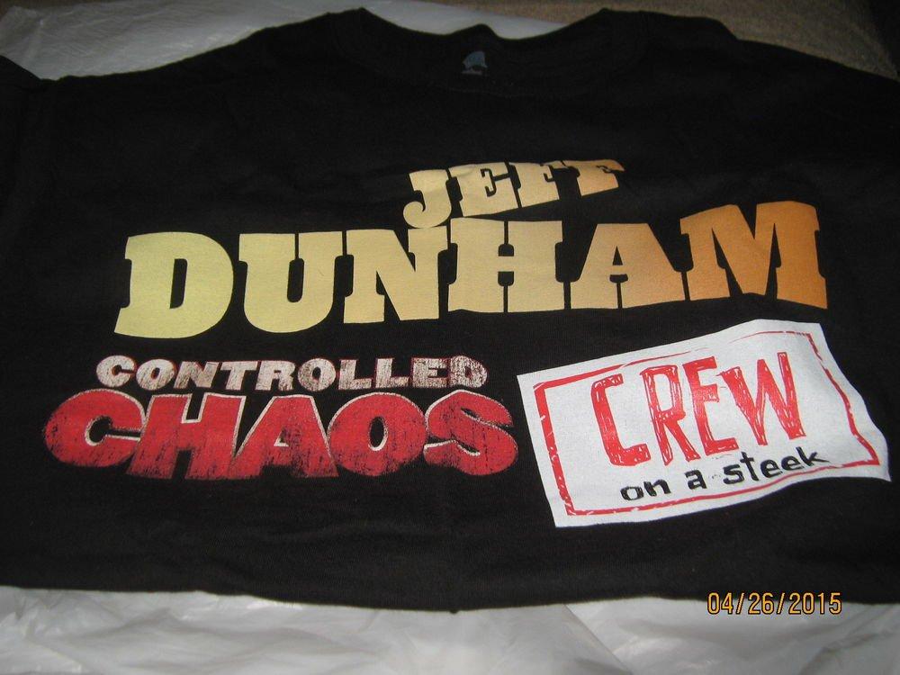 RARE Jeff Dunham Crew T Shirt Collectible
