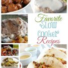 Favorite Slow Cooker Recipes eBook on CD Printable