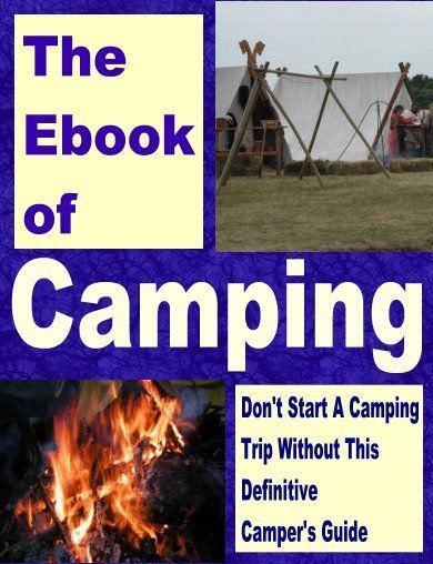 Family Guide to Camping with Kids eBook on CD Printable