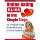 5 Steps to Dating Online eBook on CD Printable