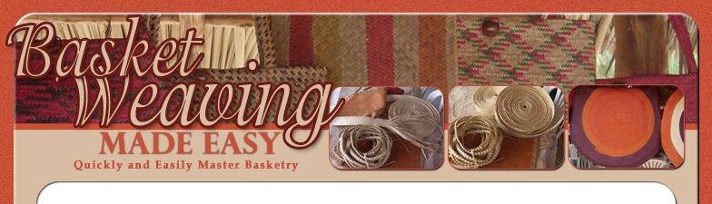 Basket Weaving Made Easy plus 30 Patterns eBook on CD Printable
