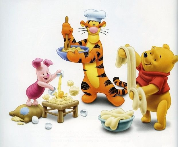 Cooking with POOH Recipes and Cookbook eBook on CD Printable