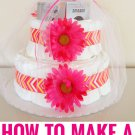 DIY How To Bake A DIAPER CAKE Recipe on CD Printable eBook