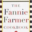 FANNY FARMER COOKBOOK-1918 Printable eBook on CD