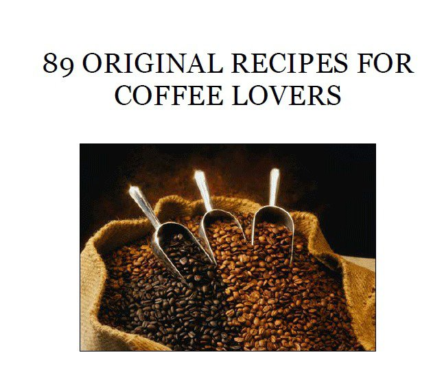 89 Coffee Recipes eBook on CD - Free Combined Shipping