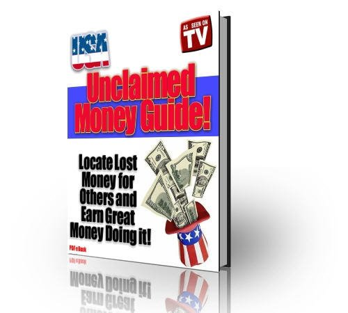 USA Unclaimed Money Guide eBook on CD Printable - Find your share of the wealth