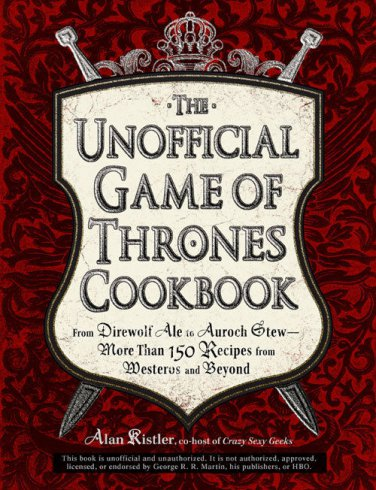 The Unoffical Games of Thrones Medieval Feast Cookbook eBook PDF on CD Printable