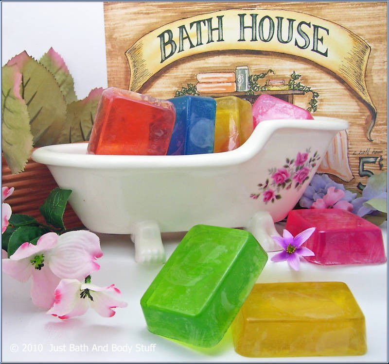 DIY Glycerin & Shea Butter Soap Recipes eBook