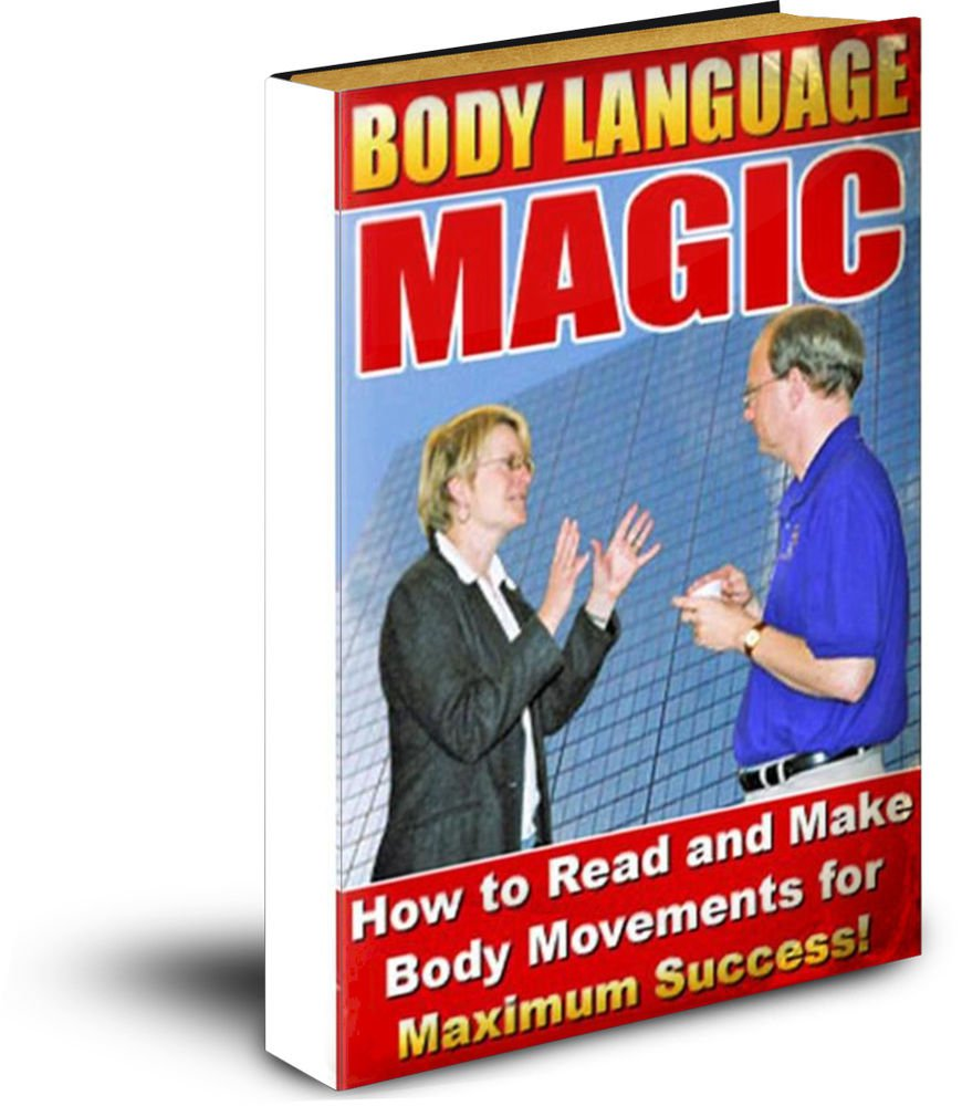 Body Language Magic eBook on CD Printable - How To Read Body Language