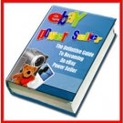 How to Become an eBay Power Seller Guide Printable eBook on CD