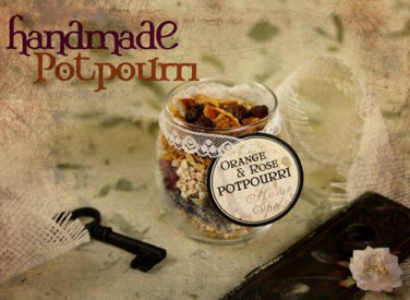 How To Make Your Own POTPOURRI & INCENSE eBook