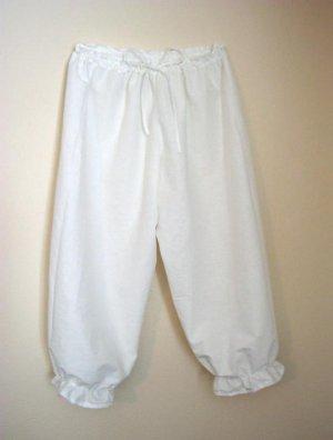 MEDIUM Womens Renaissance Bloomers Trousers Underwear