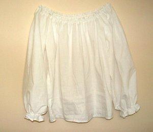 MEDIUM Womens Renaissance Faire Long Sleeve Shirt Blouse Chemise