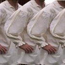 5 PACK of size 3XL Renaissance Drop Yoke Primitive Pirate Poet Theatre Shirt