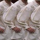 5 PACK of size SMALL Renaissance Drop Yoke Primitive Pirate Poet Theatre Shirt