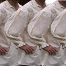 5 PACK of size XSMALL Renaissance Drop Yoke Primitive Pirate Poet Theatre Shirt