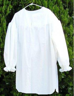 Mens XSMALL Ebenezer Scrooge Christmas Carol Night Gown Night Shirt Nightshirt