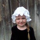 Childs Mob Cap bonnet nightcap christmas night cap universal fit
