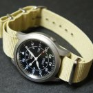 Sand 24mm Nato Nylon Watch Strap