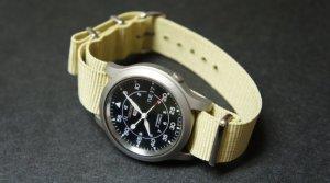 Sand 24mm Nato Nylon Watch Strap