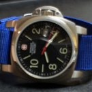 Blue 20mm Military Watch Strap