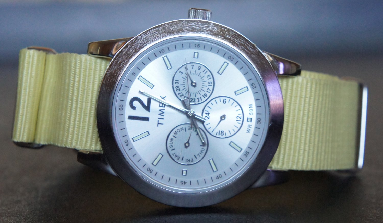 Light Yellow 20mm  Nato Nylon Watch Strap