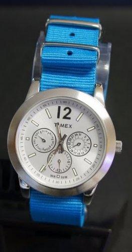 Teal Blue 22mm Nato Nylon Watch Strap
