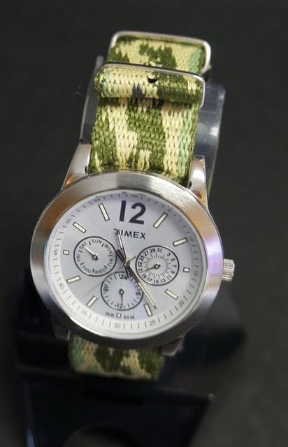 Military Army Camo 20mm Nato Nylon Watch Strap