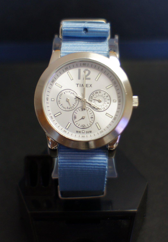 Light Blue 20mm  Nato Nylon Watch Strap