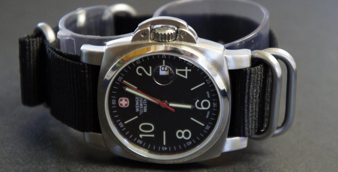 Black 24mm 5 Ring Zulu Nylon Watch Strap Band