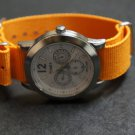 Orange 24mm Nato Nylon Watch Strap