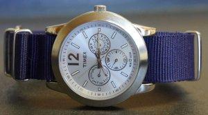 Navy Blue 18mm Nato Nylon Watch Strap