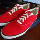 Keds Anchor Canvas Sneakers Red Size 9.5 NEW