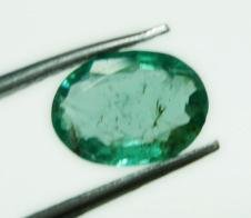 0.60cts Natural Colombian Green Emerald Gemstone Oval