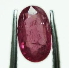 0.88cts stunning natural African Ruby gemstone oval