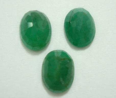 5.74ct stunning natural colombian emerald gemstone lots
