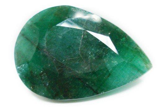 90.85cts Natural Brazilian Emerald Gemstone pear