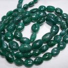 Single Strand Natural Emerald Beads Gemstone Strand 16""